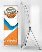 X-Banners - Economical and interchangeable